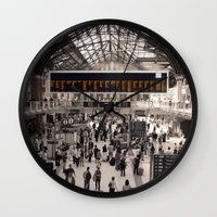 liverpool Wall Clocks featuring Liverpool St. by theGalary