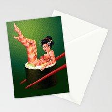 Sushi Girl Stationery Cards
