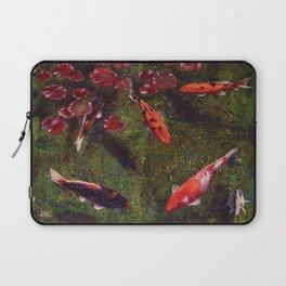 Koi Fish Swimming at Volunteer Park Laptop Sleeve