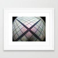 cross Framed Art Prints featuring cross. by zenitt