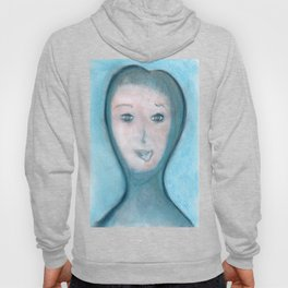 Spiritual Chalks Drawing of The Visitor, Welcome To Stay Hoody