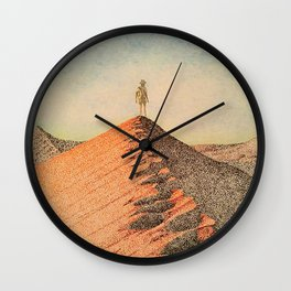 Sandy Namibia Wall Clock
