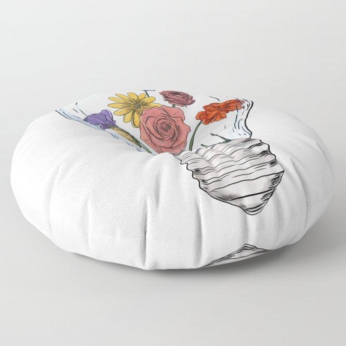 Blossom ideas Floor Pillow