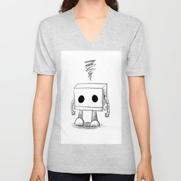 March of Robots: Day 4 Unisex V-Neck