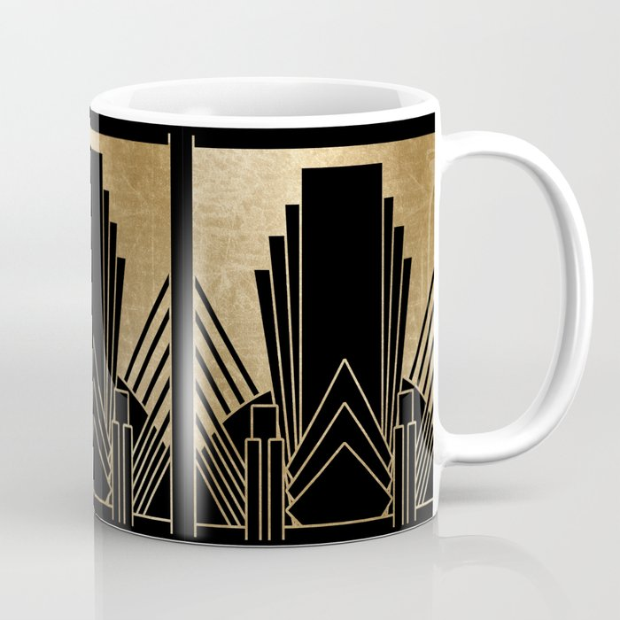Art Deco Design Coffee Mug By Peggieprints Society6