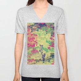 Abstract Painting II Unisex V-Neck