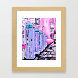 Life is Better in Pink Framed Art Print