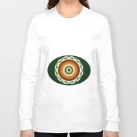 cake Long Sleeve T-shirts featuring Cake by Ordiraptus