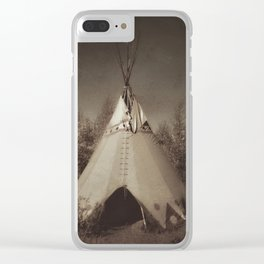 Teepee Clear iPhone Case