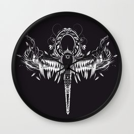 Ankh - spiritual symbol Wall Clock