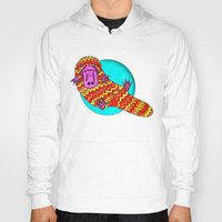 platypus Hoodies featuring Platypus by Ruth Wels