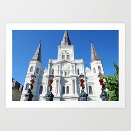 Cathedral Christmas Art Print