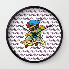 Cheese-60 Flip Wall Clock