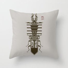 Kafkian Amulet I Throw Pillow