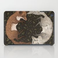 foxes iPad Cases featuring Foxes by Jessica Roux
