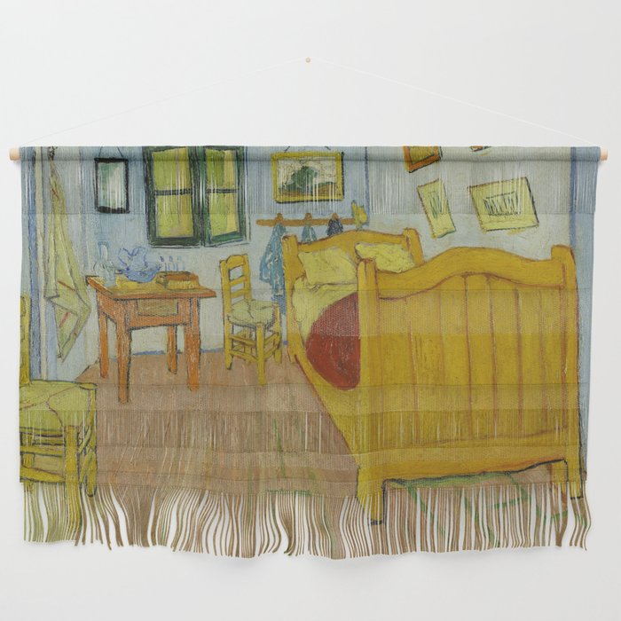 The Bedroom by Vincent van Gogh Wall Hanging by palazzoartgallery