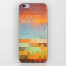 Simple Sky - Sunset iPhone & iPod Skin