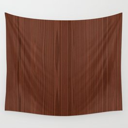 Walnut Wood Texture Wall Tapestry