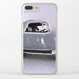 Driving Along In My Automobile Clear iPhone Case