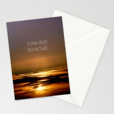 Golden Delight Stationery Cards