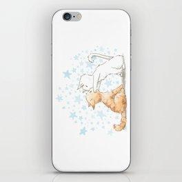 When We Kiss, I See Stars iPhone Skin