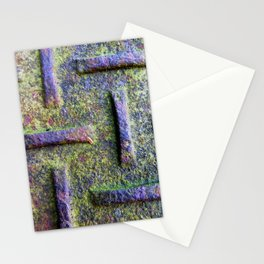 Moss Emboss Stationery Cards