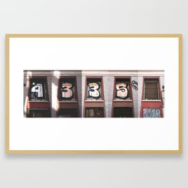 4335 Framed Art Print