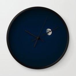 Blue Moon #society6 #decor #buyart #kirovair Wall Clock