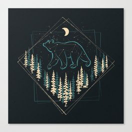 Heaven's Wild Bear Canvas Print