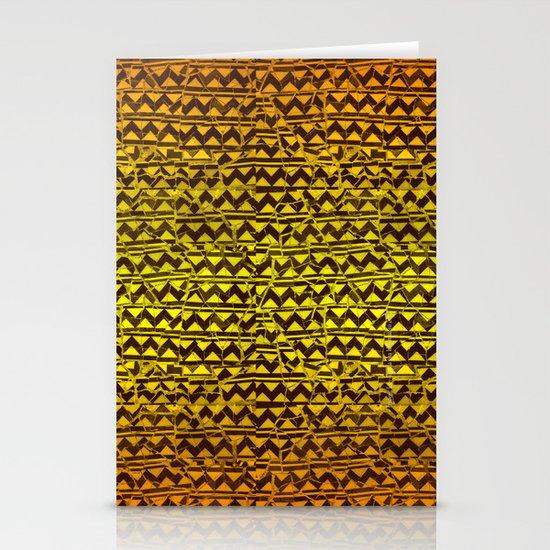 mosaic stripes Stationery Cards