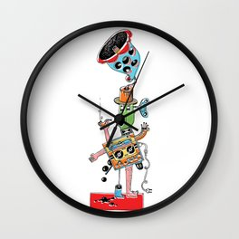 Loud Figure Wall Clock