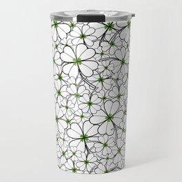 Line art - Clover Travel Mug