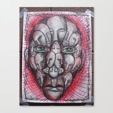 The Face of Man II  Canvas Print