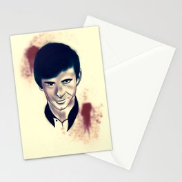 Norman Bates evolution Stationery Cards