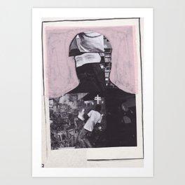 Sous les bombes (7) Art Print