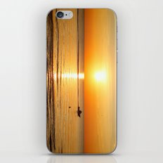 Yellow Sunset Over the Ocean iPhone & iPod Skin