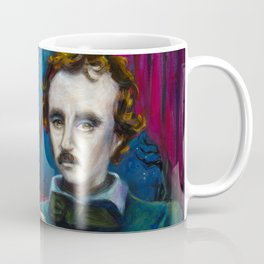 A Midnight Dreary - Edgar Allan Poe Coffee Mug