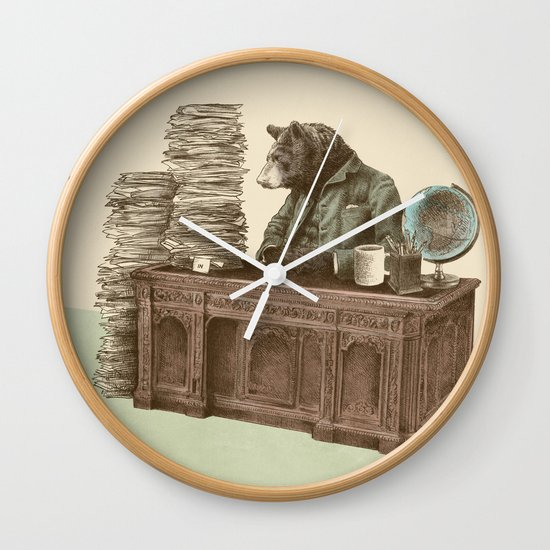 Bearocrat Wall Clock
