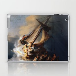 The Storm on the Sea of Galilee, Rembrandt Laptop & iPad Skin