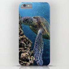 Green Sea Turtle Slim Case iPhone 6 Plus