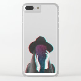 Faceless - 1 Clear iPhone Case