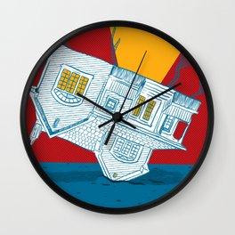 UPSIDEHOUSE Wall Clock