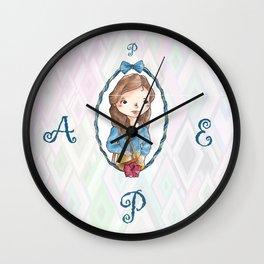 Pepa Balmes Wall Clock