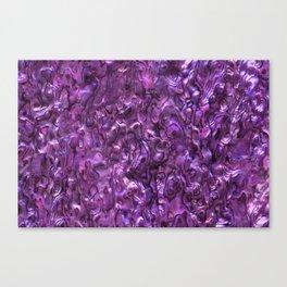 Abalone Shell | Paua Shell | Magenta Tint Canvas Print