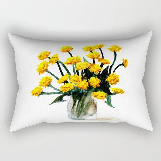 Dandelions Rectangular Pillow