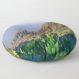 Na Pali Coast Kauai Hawaii Printable Wall Art | Tropical Beach Nature Ocean Coastal Travel Photography Print Floor Pillow