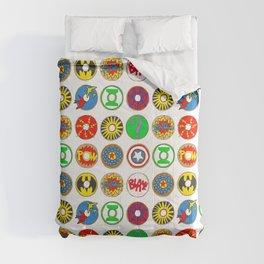 Superhero Donuts Comforters