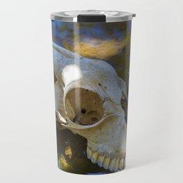 Goat Skull Travel Mug
