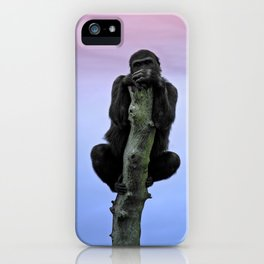 Lope The Gorilla At Sunset iPhone Case