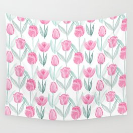Tulipanes Wall Tapestry